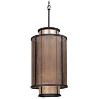 Spark & Spruce 20195-B Dahlia 8 Light 21 inch Bronze Pendant Entry Ceiling Light