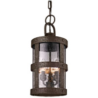 Spark & Spruce 20364-BB Rowena 3 Light 8 inch Rowena Bronze Outdoor Hanging Lantern in Incandescent