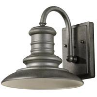 Spark & Spruce 24970-TS Aspel 1 Light 10 inch Tarnished Silver Outdoor Wall Lantern