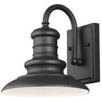 Spark & Spruce 24969-TB Aspel 1 Light 10 inch Textured Black Outdoor Wall Lantern