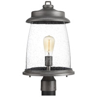Spark & Spruce 24013-APCS Marigold 1 Light 19 inch Antique Pewter Outdoor Post lantern