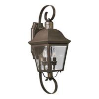Spark & Spruce 23908-ABCB Winona 2 Light 21 inch Antique Bronze Outdoor Wall Lantern
