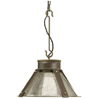 Spark & Spruce 24978-ABMC Idaho 1 Light 16 inch Aged Brass Pendant Ceiling Light Jeffrey Alan Marks Design Series