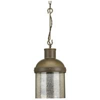 Spark & Spruce 24980-ABMC Idaho 1 Light 10 inch Aged Brass Pendant Ceiling Light Jeffrey Alan Marks Design Series