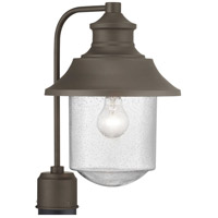 Spark & Spruce 24152-ABCS Saddletree 1 Light 16 inch Architectural Bronze Outdoor Post Lantern