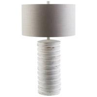 Spark & Spruce 20302-S Delaney 28 inch 100 watt Sandstone Table Lamp Portable Light