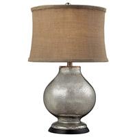 Spark & Spruce 20348-AM Mountain 25 inch 100 watt Antique Mercury Table Lamp Portable Light in Incandescent