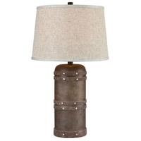 Spark & Spruce 20333-DB Norfolk 26 inch 150 watt Dark Brown Table Lamp Portable Light
