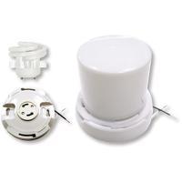 Satco 90/2615 Heartland 1 Light 5 inch White Flush Mount Ceiling Light