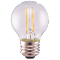 Satco S12104 Lumos LED G16 Medium E26 5.5 watt 120V 4000K Light Bulb