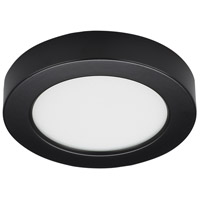 Satco S21526 Heartland LED 5 inch Black Flush Mount Ceiling Light BLINK