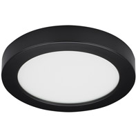 Satco S21528 Heartland LED 7 inch Black Flush Mount Ceiling Light BLINK