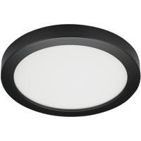 Satco S21530 Heartland LED 9 inch Black Flush Mount Ceiling Light BLINK