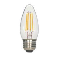 Satco S21703 Signature LED B11 Medium 4.5 watt 120V 2700K Light Bulb