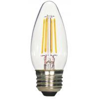 Satco S21709 Lumos LED B11 Medium E26 4.5 watt 120V 2700K Light Bulb