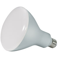 Satco S28597 BR40 Frosted White 5000K 6 inch LED