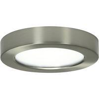 Satco S29321 Heartland LED 6 inch Brushed Nickel Flush Mount Ceiling Light BLINK