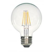 Satco S29563 Lumos LED G25 Medium E26 4.5 watt 120V 2700K Light Bulb LED Filament