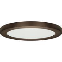Satco S29652 Heartland LED 13 inch Bronze Flush Mount Ceiling Light BLINK