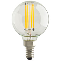 Satco S29871 Lumos LED G16 Candelabra E12 4 watt 120V 2700K Light Bulb