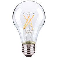 Satco S29876 Lumos LED A19 Medium E26 7 watt 120V 2700K Light Bulb