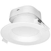 Satco S39013 Heartland LED Module White and Frosted Recessed