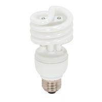 Satco S7325 Lumos Compact Fluorescent T2 Medium E26 13 watt 120V 2700K Light Bulb