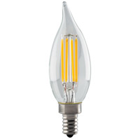 Signature LED CA11 Candelabra 4.5 watt 120V 2700K Light Bulb