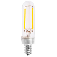 Signature LED T6 Candelabra 2.5 watt 120V 2700K Light Bulb