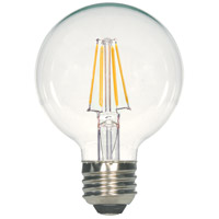 Satco S8849 Signature LED G25 Medium Base 5 watt 120V 4000K LED Filament