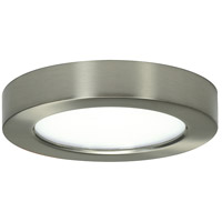 Blink LED 8 inch Frosted White Flush Mount Ceiling Light