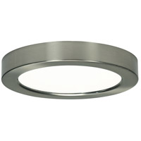 Blink LED 7 inch Frosted White Flush Mount Ceiling Light