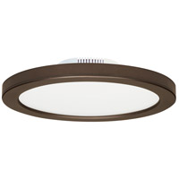 Satco S9885 Heartland LED 7 inch Bronze Flush Mount Ceiling Light BLINK
