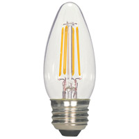 Satco S9964 Lumos LED B11 Medium E26 5.5 watt 120V 2700K Light Bulb LED Filament