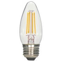 Satco S9964 Signature LED C11 Medium 5.5 watt 120 2700K Light Bulb LED Filament