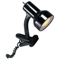 Satco SF76/226 Heartland 9 inch 60.00 watt Black Clip On Gooseneck Lamp Portable Light