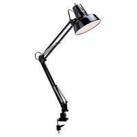 Satco SF76/359 Heartland 8 inch 60.00 watt Black and Steel Swing Arm Drafting Lamp Portable Light