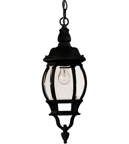 Savoy House Exterior Collections 1 Light Outdoor Hanging Lantern in Black 07095-BLK