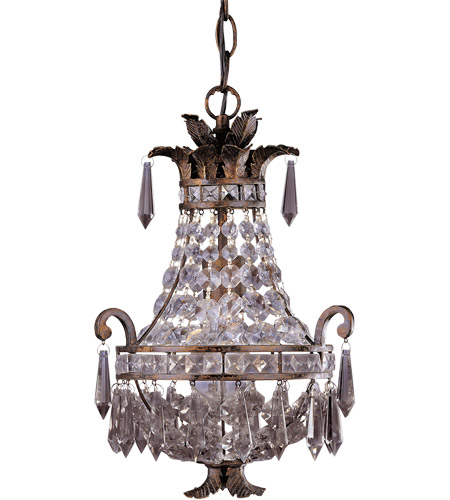 Savoy House Signature 1 Light Chandelier in New Tortoise Shell 1-1046-1-56