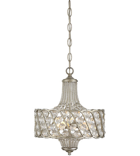 Savoy house 1 1048 3 176 signature 3 light 13 inch silver lace mini savoy house 1 1048 3 176 signature 3 light 13 inch silver lace mini chandelier ceiling light aloadofball Choice Image