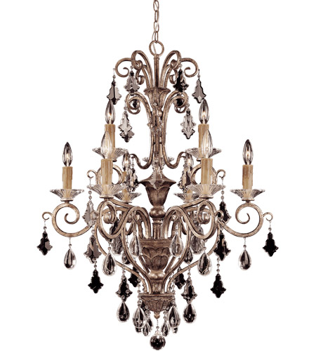 Savoy House 1-1398-9-256 Antoinette 9 Light 28 inch New Mocha Chandelier Ceiling Light photo
