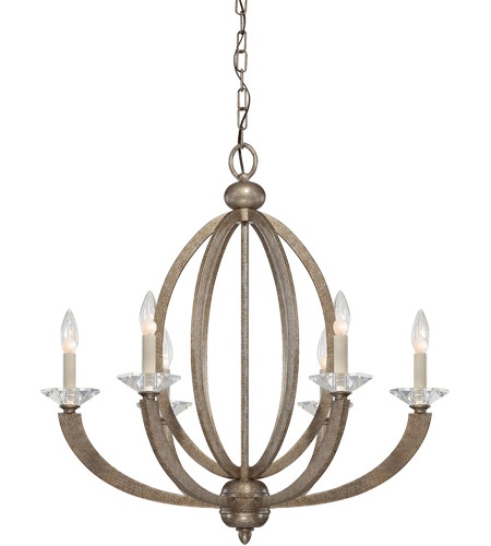 Savoy House Forum 6 Light Chandelier in Gold Dust 1-1551-6-122