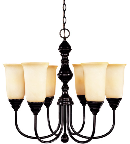 Savoy House Sutton Place 6 Light Chandelier in English Bronze 1-1701-6-13