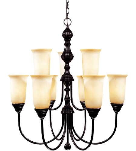 Savoy House Sutton Place 9 Light Chandelier in English Bronze 1-1702-9-13