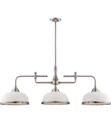 Savoy House Sutton Place 3 Light Island Light in Satin Nickel 1-1730-3-SN photo