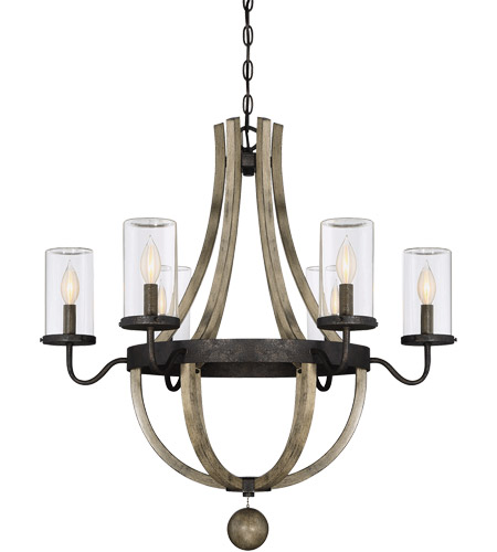 Savoy House 1-2100-6-70 Eden 6 Light 29 inch Weathervane Garden Chandelier photo