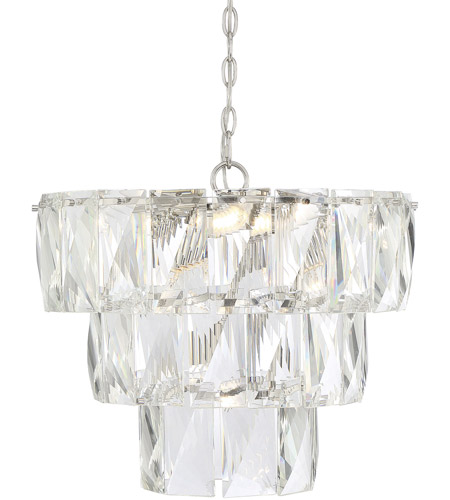 Savoy House 1-2175-7-109 Turner 7 Light 20 inch Polished Nickel Chandelier Ceiling Light photo