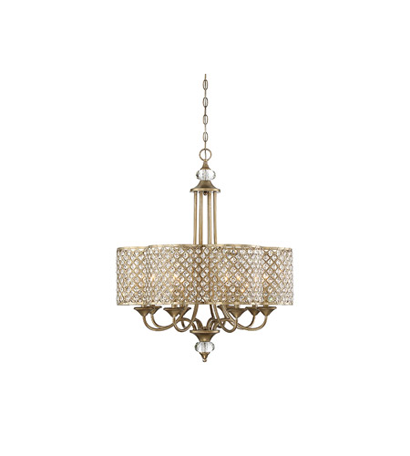 Pyrite Chandeliers