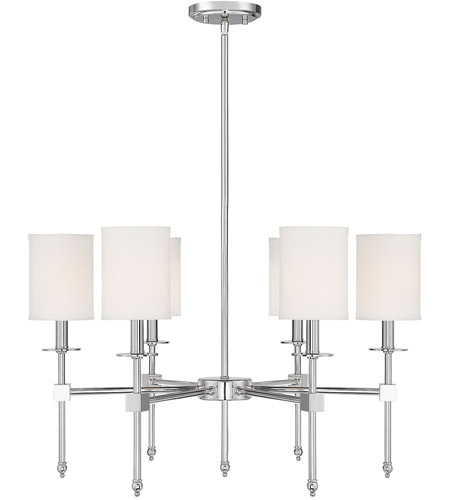 Polished Nickel Chatham Chandeliers