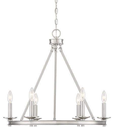Savoy House Satin Nickel Middleton Chandeliers
